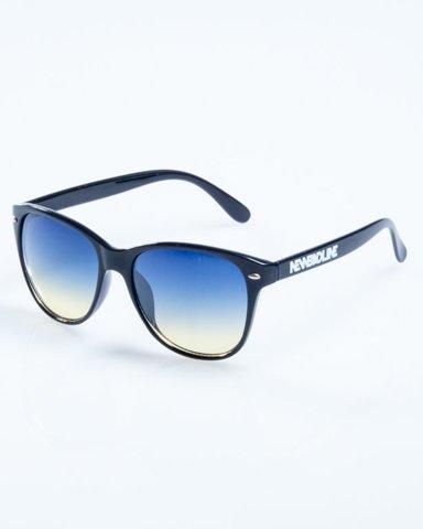 OKULARY LAZY BLACK FLASH BLUE-YELLOW 774