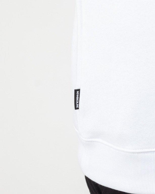 BLUZA BEZ KAPTURA CLASSIC WHITE