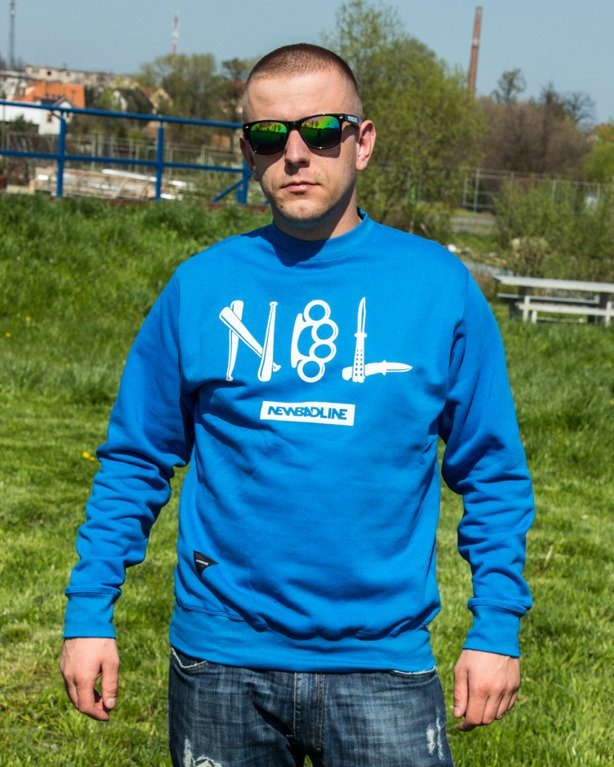 BLUZA CREWNECK CRIME BLUE