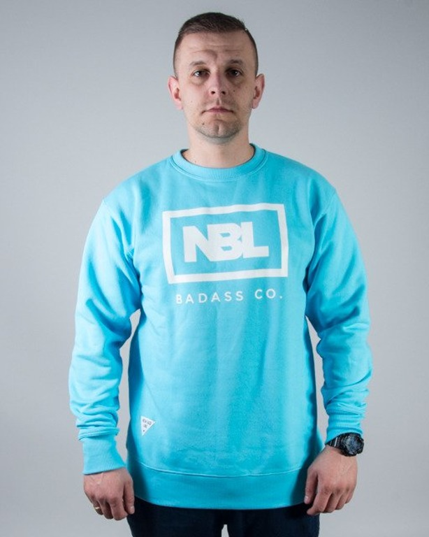 BLUZA CREWNECK NEW ICON LIGHT BLUE