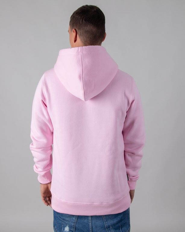 BLUZA Z KAPTUREM ASS PINK