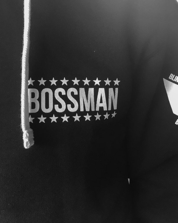 NBL x BLIND WEAR BLUZA Z KAPTUREM BOSSMAN BLACK