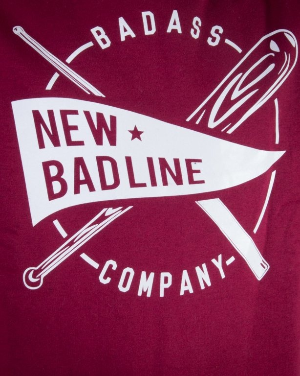 NEW BAD LINE BLUZA BEZ KAPTURA BASEBALL BRICK