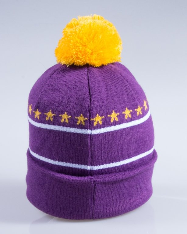 NEW BAD LINE CZAPKA ZIMOWA SWAG VIOLET