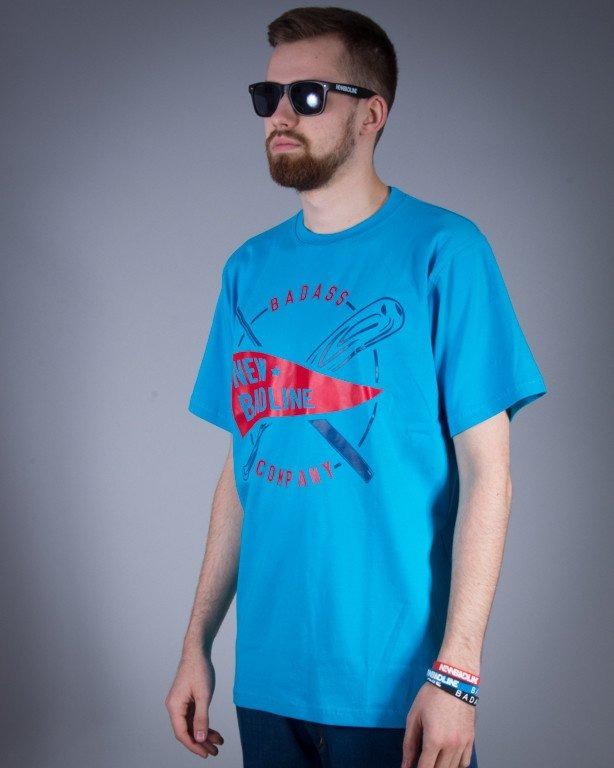 NEW BAD LINE KOSZULKA BASEBALL BLUE