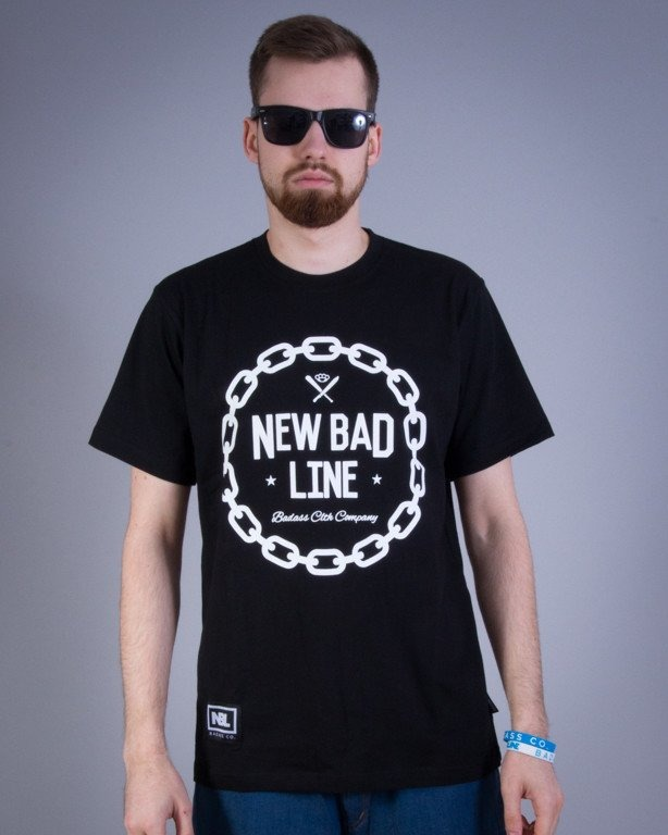 NEW BAD LINE KOSZULKA CHAIN BLACK