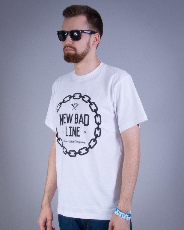 NEW BAD LINE KOSZULKA CHAIN WHITE