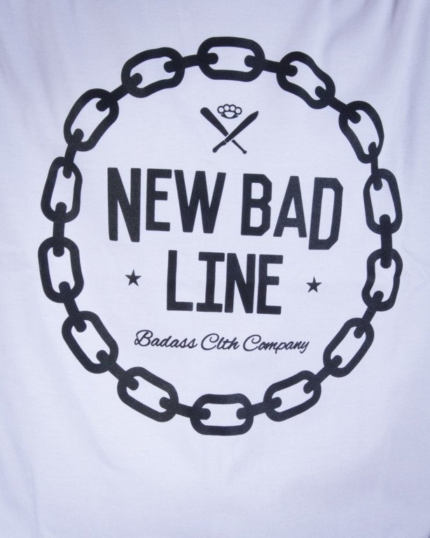 NEW BAD LINE KOSZULKA CHAIN WHITE
