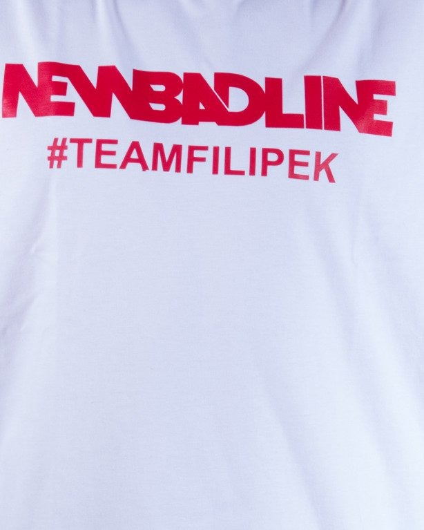 NEW BAD LINE KOSZULKA #TEAMFILIPEK WHITE