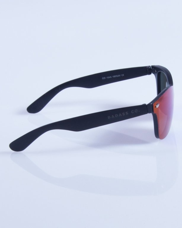 NEW BAD LINE OKULARY CLASSIC ALL GLASS RUBBER MIRROR 345
