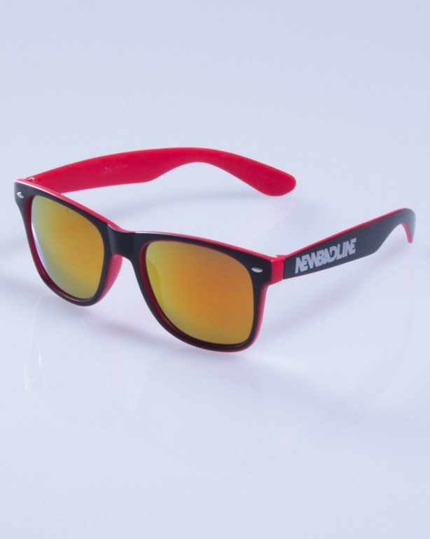 NEW BAD LINE OKULARY CLASSIC INSIDE MAT MIRROR 245