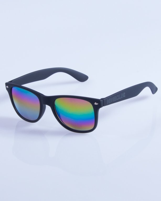 NEW BAD LINE OKULARY CLASSIC MIRROR RUBBER 334