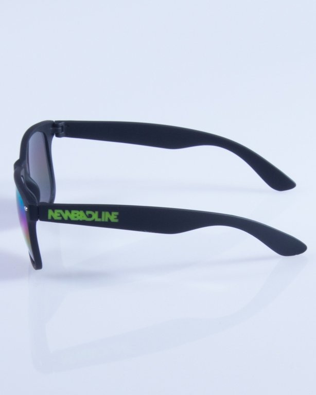 NEW BAD LINE OKULARY CLASSIC MIRROR RUBBER 336