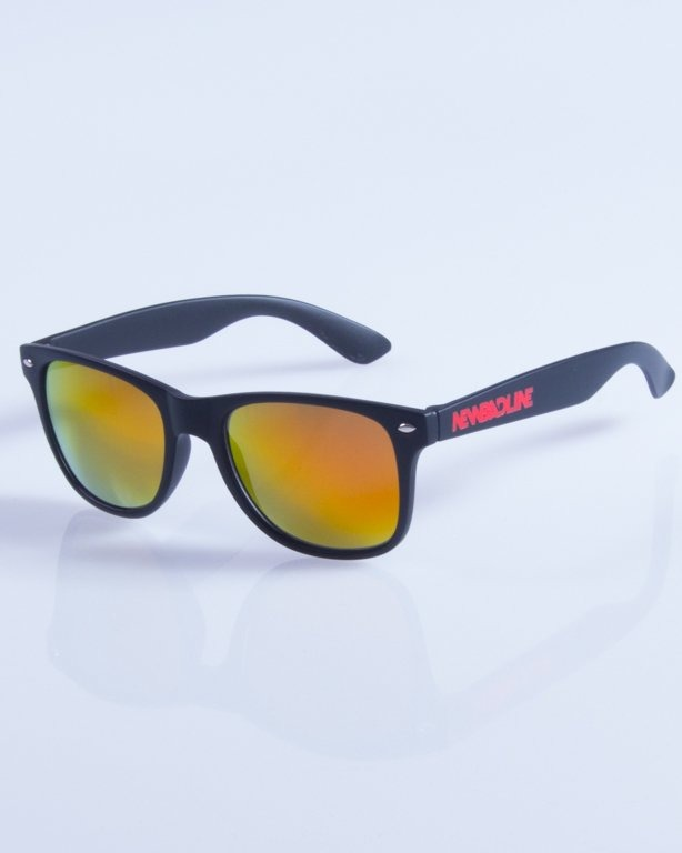 NEW BAD LINE OKULARY CLASSIC MIRROR RUBBER 357
