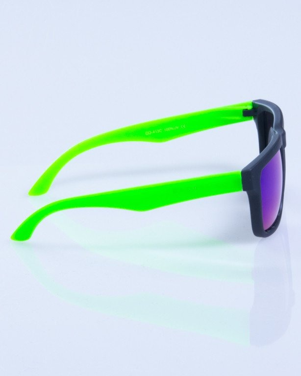 NEW BAD LINE OKULARY MODERN MIRROR RUBBER 302