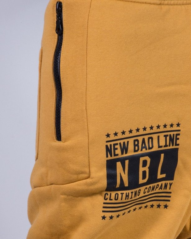 NEW BAD LINE SPODNIE DRESY SWAG LOW CAMEL