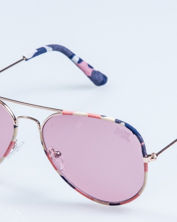 OKULARY CAMO METAL GOLD-PINK PINK 690