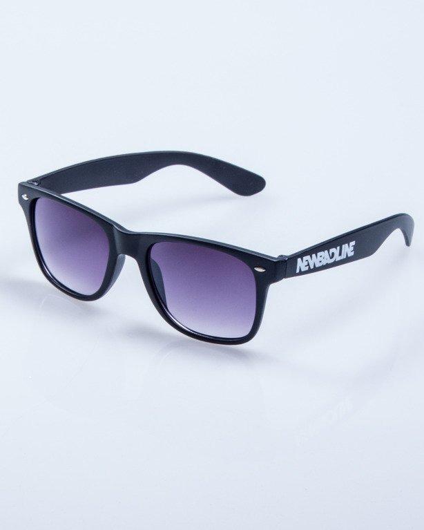 OKULARY CLASSIC BLACK MAT BLACK HALF 586