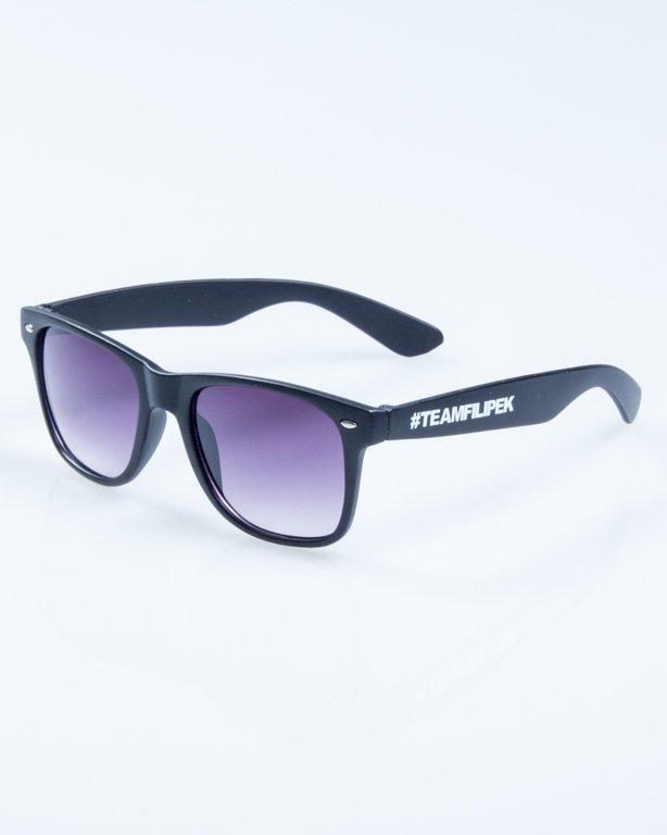 OKULARY CLASSIC BLACK MAT - FILIPEK - #TEAMFILIPEK 830