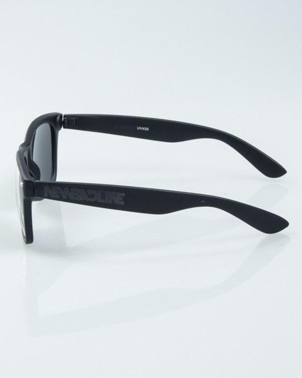 OKULARY CLASSIC BLACK RUBBER BLACK 1022
