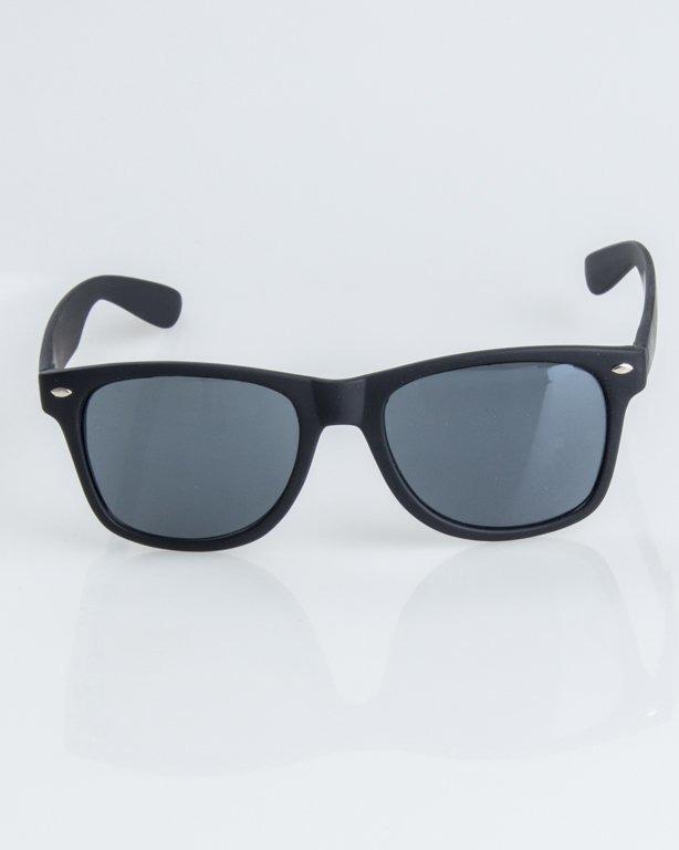 OKULARY CLASSIC BLACK RUBBER BLACK 1241