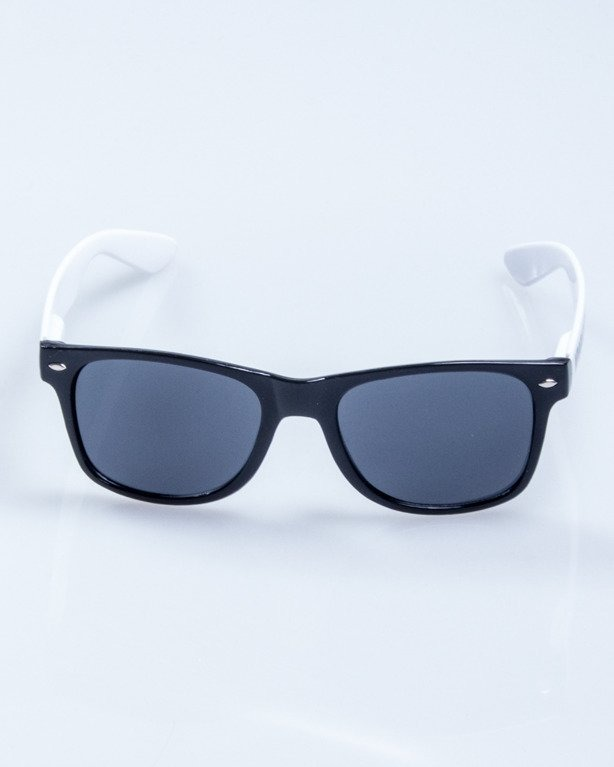 OKULARY CLASSIC BLACK-WHITE FLASH BLACK 631