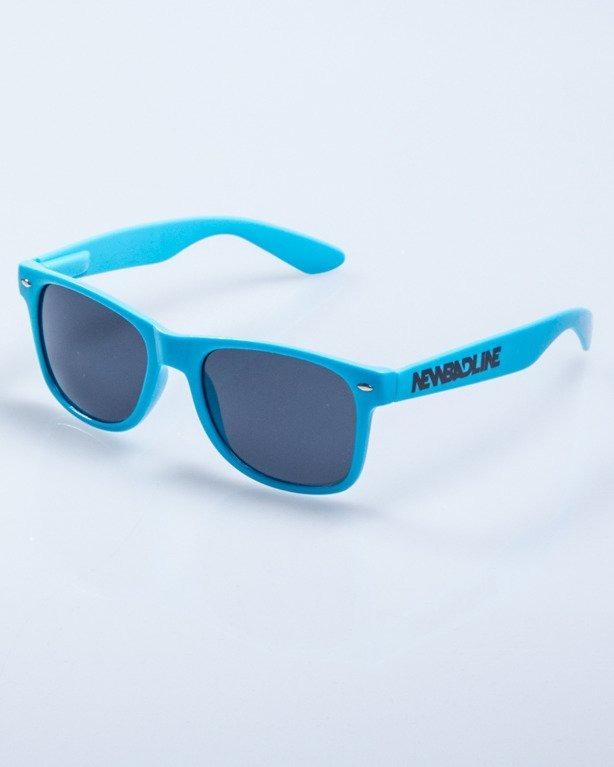 OKULARY CLASSIC BLUE FLASH BLACK 632