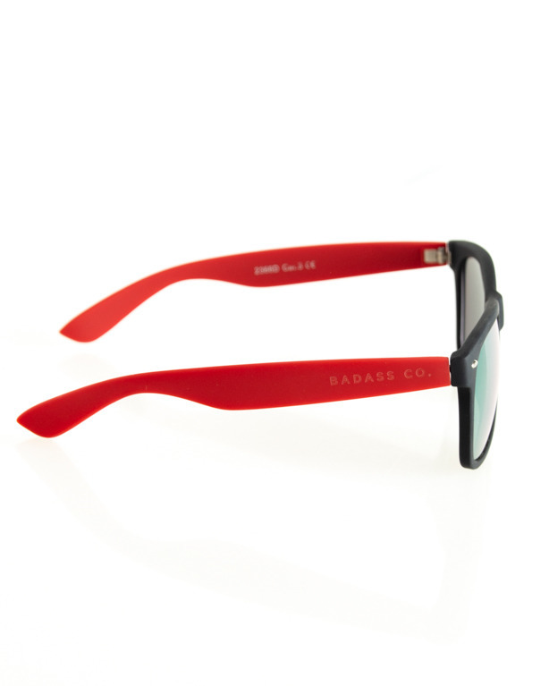 OKULARY CLASSIC HALF BLACK-RED RUBBER YELLOW 111