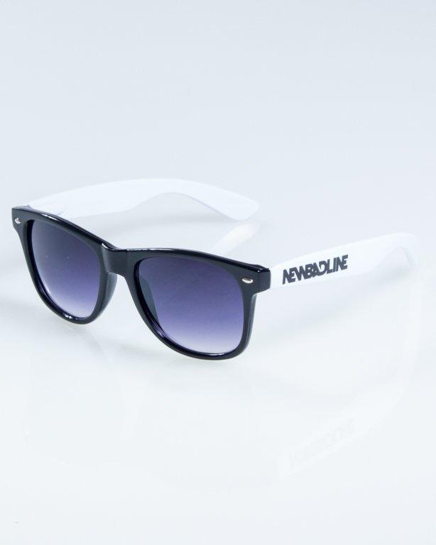 OKULARY CLASSIC HALF  BLACK-WHITE FLASH BLACK HALF 836