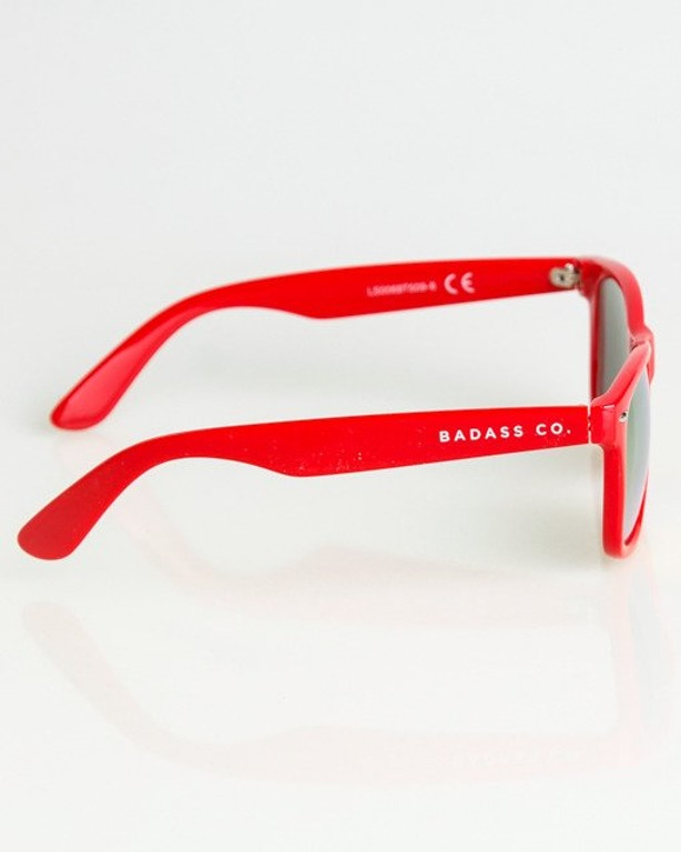 OKULARY CLASSIC RED FLASH RED MIRROR 1343