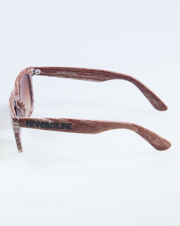 OKULARY CLASSIC WOODY  MEDIUM BROWN 872