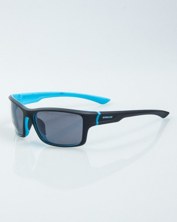 OKULARY EXEMPLAR INSIDE BLACK-BLUE RUBBER BLACK 1017