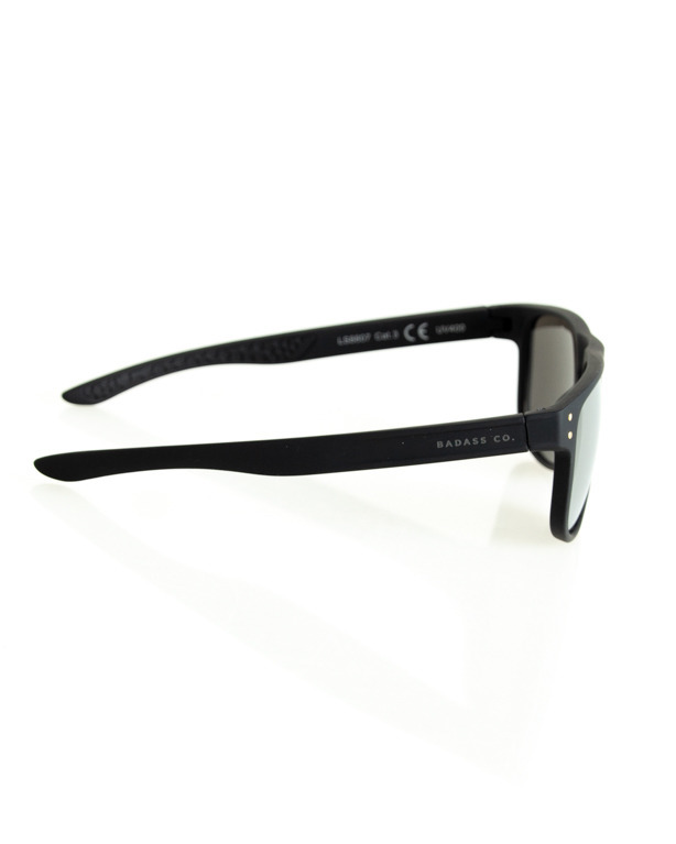 OKULARY POINT BLACK RUBBER SILVER MIRROR 195