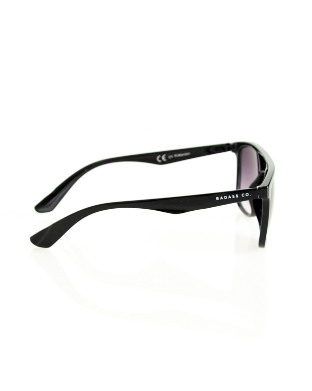 OKULARY GENTLE BLACK FLASH BLACK 200