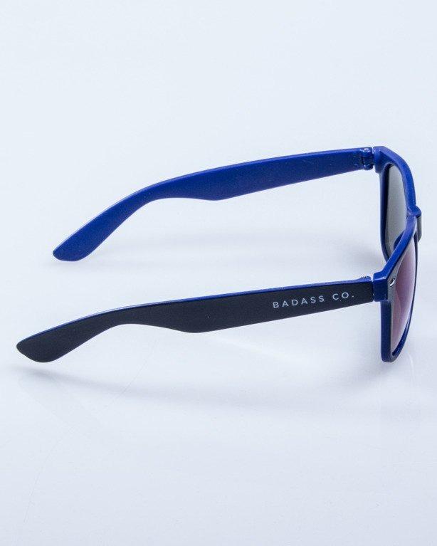 OKULARY INSIDE BLACK-BLUE MAT BLUE MIRROR 567
