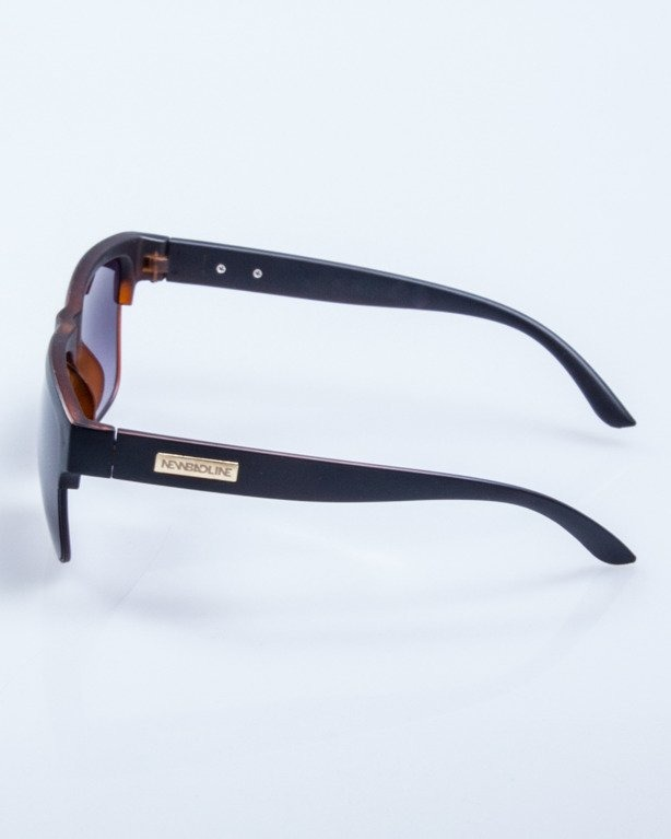 OKULARY KING BROWN MAT BLACK 515