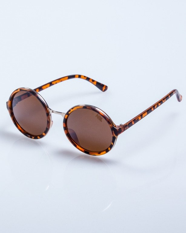 OKULARY LADY HARRY PANTERA BROWN MAT BROWN 547