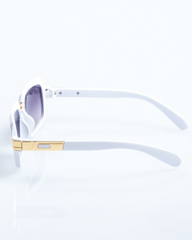 OKULARY RICH WHITE FLASH BLACK 799