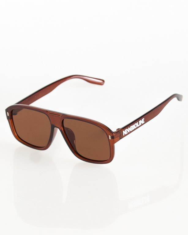 OKULARY ROUGE POLARIZED BROWN FLASH BROWN 045