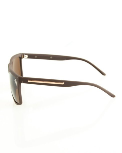 OKULARY STAR BROWN RUBBER BROWN 107