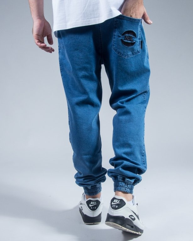 SPODNIE JEANS JOGGER BASKET LIGHT