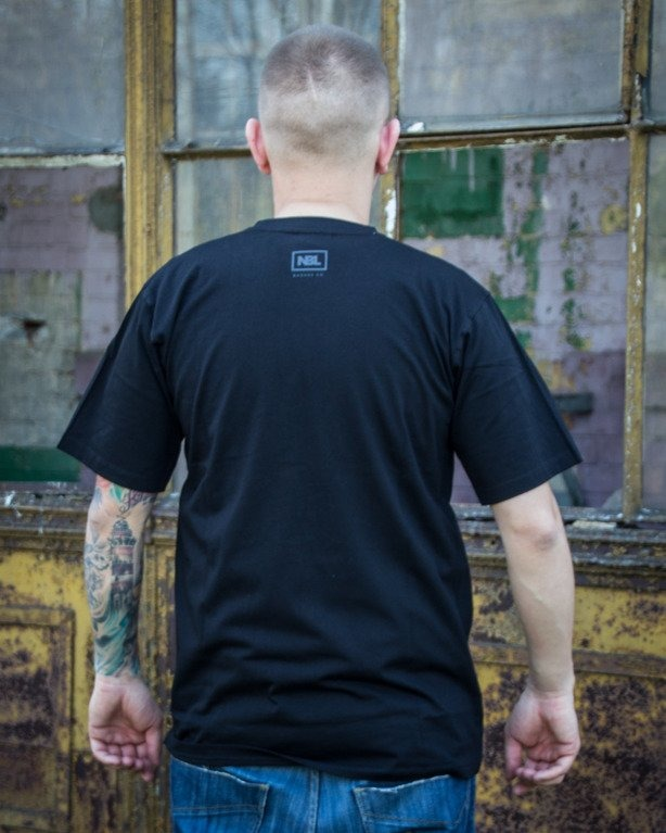 T-SHIRT CLASSIC BLACK ON BLACK