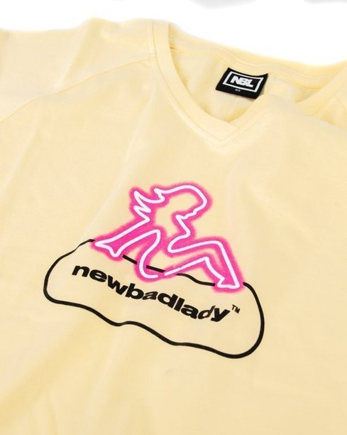 T-SHIRT DAMSKI LADY YELLOW