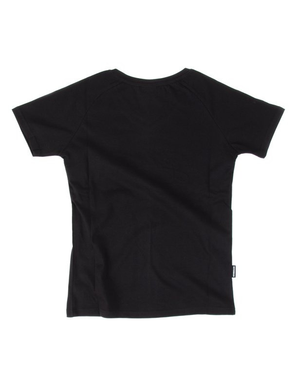 T-SHIRT DAMSKI ROSE BLACK