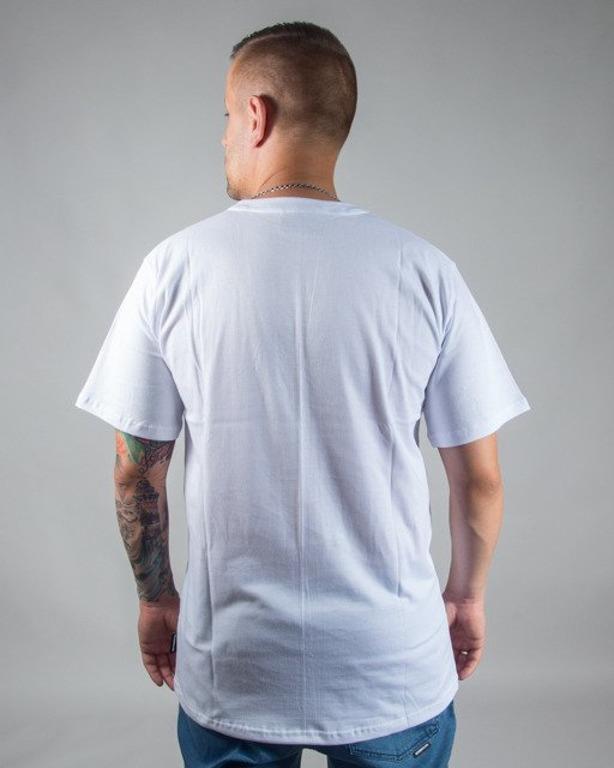 T-SHIRT ŁAPA WHITE