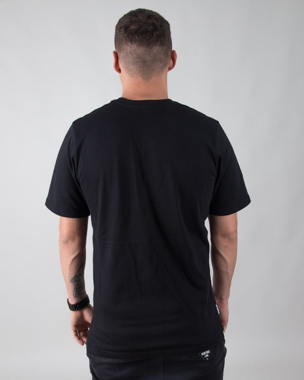 T-SHIRT ROMB BLACK